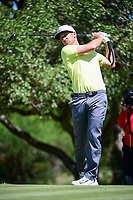 Kevin Chappell (USA) watches his tee shot on 2 during round 4 of the Valero Texas Open, AT&amp;T Oaks Course, TPC San Antonio, San Antonio, Texas, USA. 4/23/2017.<br /> Picture: Golffile | Ken Murray<br /> <br /> <br /> All photo usage must carry mandatory copyright credit (&copy; Golffile | Ken Murray)