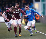 Fraser Aird with Nicky Devlin and David Rowson