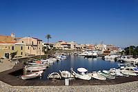 Fischerei-Hafen von Stintino, Provinz Sassari, Nord - Sardinien, Italien