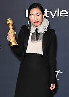 05 January 2020 - Beverly Hills, California - Awkwafina. 21st Annual InStyle and Warner Bros. Golden Globes After Party held at Beverly Hilton Hotel. Photo Credit: Birdie Thompson/AdMedia