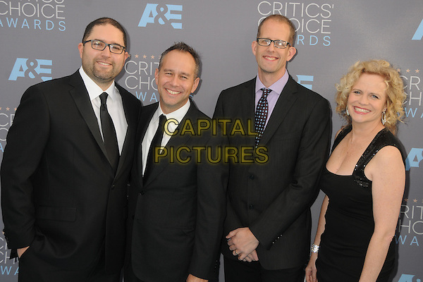 17 January 2016 - Santa Monica, California - Jonas Rivera, Pete Docter. 21st Annual Critics' Choice Awards - Arrivals held at Barker Hangar. <br /> CAP/ADM/BP<br /> &copy;BP/ADM/Capital Pictures