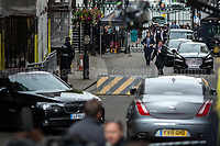London, 12/06/2017. Today, Theresa May's reshuffled Cabinet met at 10 Downing Street after the General Election of the 8 June 2017. Philip Hammond MP - not present in the photos - was confirmed as Chancellor of the Exchequer. <br /> After 5 years of the Coalition Government (Conservatives &amp; Liberal Democrats) led by the Conservative Party leader David Cameron, and one year of David Cameron's Government (Who resigned after the Brexit victory at the EU Referendum held in 2016), British people voted in the following way: the Conservative Party gained 318 seats (42.4% - 13,667,213 votes &ndash; 12 seats less than 2015), Labour Party 262 seats (40,0% - 12,874,985 votes &ndash; 30 seats more then 2015); Scottish National Party, SNP 35 seats (3,0% - 977,569 votes &ndash; 21 seats less than 2015); Liberal Democrats 12 seats (7,4% - 2,371,772 votes &ndash; 4 seats more than 2015); Democratic Unionist Party 10 seats (0,9% - 292,316 votes &ndash; 2 seats more than 2015); Sinn Fein 7 seats (0,8% - 238,915 votes &ndash; 3 seats more than 2015); Plaid Cymru 4 seats (0,5% - 164,466 votes &ndash; 1 seat more than 2015); Green Party 1 seat (1,6% - 525,371votes &ndash; Same seat of 2015); UKIP 0 seat (1.8% - 593,852 votes); others 1 seat. <br /> The definitive turn out of the election was 68.7%, 2% higher than the 2015.<br /> <br /> For more info about the election result click here: http://bbc.in/2qVyNRd &amp; http://bit.ly/2s9ob51<br /> <br /> For more info about the Cabinet Ministers click here: https://goo.gl/wmRYRd