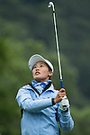Lin Xiyu of China tees off during Round 1 of the World Ladies Championship 2016 on 10 March 2016 at Mission Hills Olazabal Golf Course in Dongguan, China. Photo by Victor Fraile / Power Sport Images