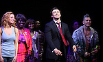 Caissie Levy, Bryce Pinkham with the Company.during the Broadway Opening Night Performance Curtain Call for  'GHOST' a the Lunt-Fontanne Theater on 4/23/2012 in New York City.