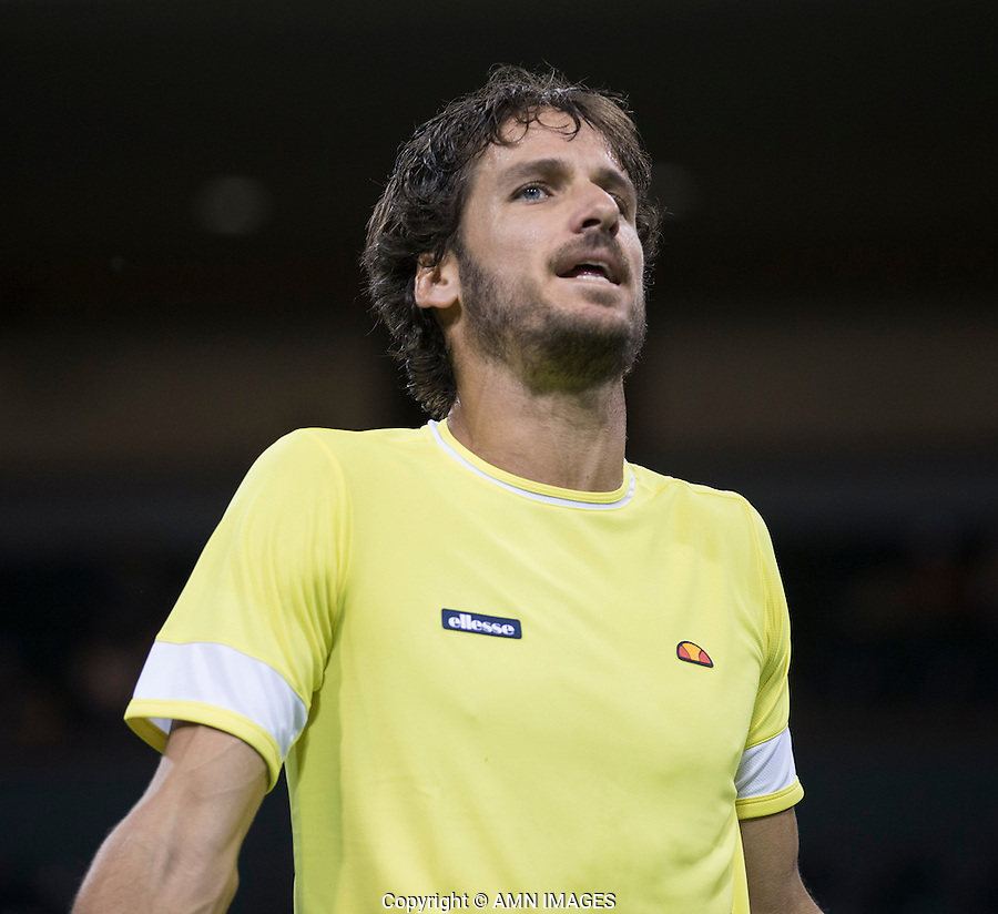 FELICIANO LOPEZ (ESP)<br /> <br /> Tennis - BNP PARIBAS OPEN 2015 - Indian Wells - ATP 1000 - WTA Premier -  Indian Wells Tennis Garden  - United States of America - 2015<br /> &copy; AMN IMAGES