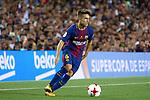 Supercopa de Espa&ntilde;a - Ida.<br /> FC Barcelona vs R. Madrid: 1-3.<br /> Denis Suarez.