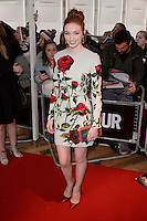 Eleanor Tomlinson at the Glamour Women of the Year Awards 2015 at Berkeley Square gardens.<br /> June 2, 2015  London, UK<br /> Picture: Dave Norton / Featureflash