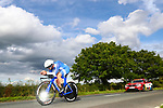 Oded Kogut of Israel in action during the Men Junior Individual Time Trial of the UCI World Championships 2019 running 27.6km from Harrogate to Harrogate, England. 23rd September 2019.<br /> Picture: Alex Whitehead/SWPix.com | Cyclefile<br /> <br /> All photos usage must carry mandatory copyright credit (© Cyclefile | Alex Whitehead/SWPix.com)