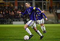 20180126 - OOSTAKKER , BELGIUM : Anderlecht's Laura De Neve pictured during the quarter final of Belgian cup 2018 , a womensoccer game between KAA Gent Ladies and RSC Anderlecht , at the PGB stadion in Oostakker , friday 27 th January 2018 . PHOTO SPORTPIX.BE | DAVID CATRY