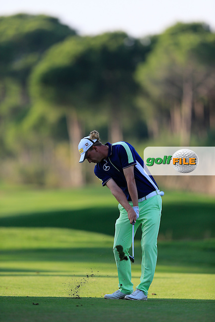Marcel Siem (GER) during the final round at the Turkish Airlines Open by the Ministry of Youth and Sport, The Montgomerie Maxx Royal, Antalya, Turkey. Picture Fran Caffrey www.golffile.ie