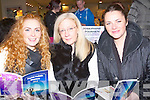 BOOKLET: Eileen O'Sullivan, Ann Talbot and Caitriona O'Sullivan (Tralee) looking overs the Psychic Holistic Directory 2013 in The Manor West Hotel, Tralee on Sunday.
