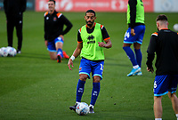 Blackpool's Liam Feeney goes through some warm up drills<br /> <br /> Photographer Alex Dodd/CameraSport<br /> <br /> The EFL Sky Bet League One - Doncaster Rovers v Blackpool - Tuesday September 17th 2019 - Keepmoat Stadium - Doncaster<br /> <br /> World Copyright © 2019 CameraSport. All rights reserved. 43 Linden Ave. Countesthorpe. Leicester. England. LE8 5PG - Tel: +44 (0) 116 277 4147 - admin@camerasport.com - www.camerasport.com