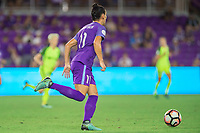 Orlando, FL - Thursday September 07, 2017: Ali Krieger during a regular season National Women's Soccer League (NWSL) match between the Orlando Pride and the Seattle Reign FC at Orlando City Stadium.