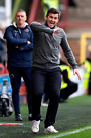 Fleetwood Town manager Joey Barton reacts<br /> <br /> Photographer Richard Martin-Roberts/CameraSport<br /> <br /> The EFL Sky Bet League One - Fleetwood Town v Shrewsbury Town - Saturday 13th October 2018 - Highbury Stadium - Fleetwood<br /> <br /> World Copyright &not;&copy; 2018 CameraSport. All rights reserved. 43 Linden Ave. Countesthorpe. Leicester. England. LE8 5PG - Tel: +44 (0) 116 277 4147 - admin@camerasport.com - www.camerasport.com
