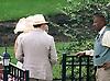 paddock scenes before The Robert G. Dick Memorial Stakes (gr 3) at Delaware Park on 7/8/17