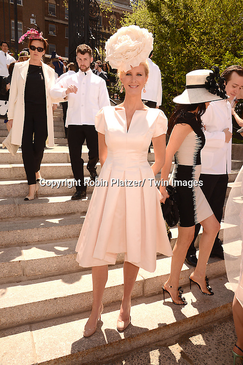 Sandra Lee attends the 32nd Annual Frederick Law Olmsted Awards Hat Luncheon given by The Central Park Conservancy on May 7,2014 in Central Park in New York City, NY USA.