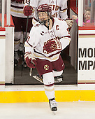 Dana Trivigno (BC - 8) - The Boston College Eagles defeated the visiting Providence College Friars 7-1 on Friday, February 19, 2016, at Kelley Rink in Conte Forum in Boston, Massachusetts.