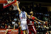 GRONINGEN - Basketbal, Donar - Benfica, voorronde Chamions League, seizoen 2019-2020, 20-09-2019, score Donar speler Matt McCarthy