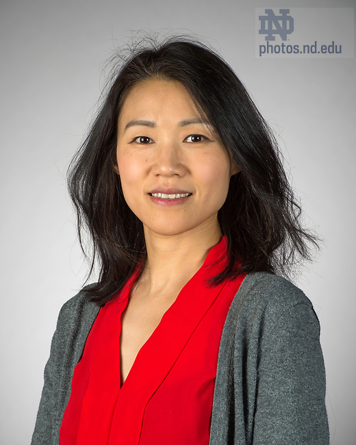 May 12, 2017; Fang Liu - Headshot (Photo by Barbara Johnston/University of Notre Dame)