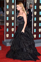 Lilly James<br /> arriving for the BAFTA Film Awards 2018 at the Royal Albert Hall, London<br /> <br /> <br /> ©Ash Knotek  D3381  18/02/2018