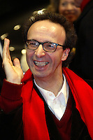Actor and director Roberto Benigni at th Berlinale 2006, 56. Internationale Filmfestspiele Berlin / Berlin Film Festival