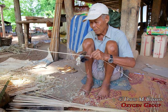 Man Making Basket