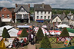 HAY FESTIVAL HAY-ON-WYE WALES UK