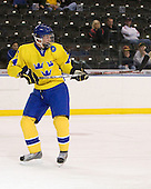 Jonathan Johansson (Sweden - 21) - Sweden defeated the Czech Republic 4-2 at the Urban Plains Center in Fargo, North Dakota, on Saturday, April 18, 2009, in their final match of the 2009 World Under 18 Championship.