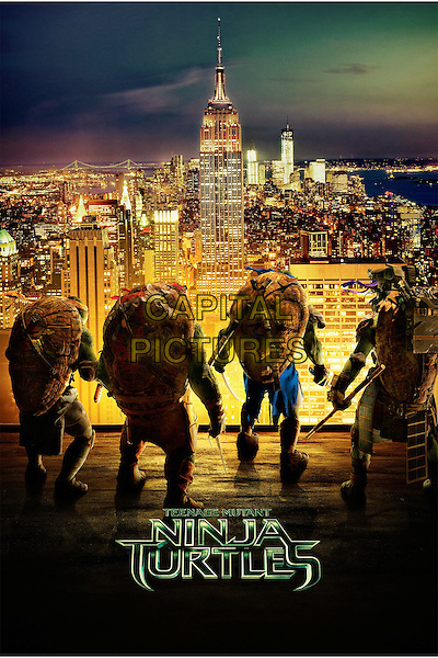 POSTER ART<br /> in Teenage Mutant Ninja Turtles (2014) <br /> *Filmstill - Editorial Use Only*<br /> CAP/NFS<br /> Image supplied by Capital Pictures