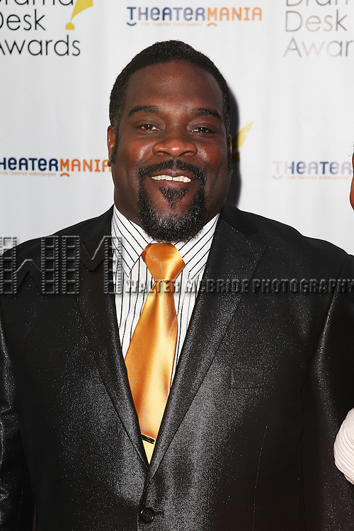 Phillip Boykin pictured at the 57th Annual Drama Desk Awards held at the The Town Hall in New York City, NY on June 3, 2012. © Walter McBride