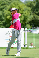 Thorbjorn Olesen (DEN) watches his tee shot on 11 during Saturday's round 3 of the World Golf Championships - Bridgestone Invitational, at the Firestone Country Club, Akron, Ohio. 8/5/2017.<br /> Picture: Golffile | Ken Murray<br /> <br /> <br /> All photo usage must carry mandatory copyright credit (&copy; Golffile | Ken Murray)