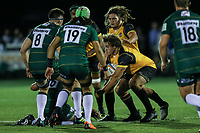 Elliot Millar Mills of Ealing Trailfinders during the Greene King IPA Championship match between Ealing Trailfinders and London Irish Rugby Football Club  at Castle Bar, West Ealing, England  on 1 September 2018. Photo by David Horn.