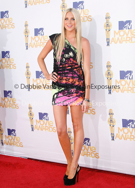 Stephanie Pratt at the 2010 MTV Movie Awards held at The Gibson Ampitheatre in Universal City, California on June 06,2010                                                                               © 2010 Debbie VanStory / Hollywood Press Agency