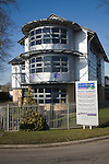 Chartered Accountants business offices at modern industrial estate, Claydon Business park, Suffolk, England