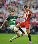 Fussball Bundesliga 2010/11, 3. Spieltag: FC Bayern - SV Werder Bremen