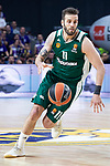 Panathinaikos Nikos Pappas during Turkish Airlines Euroleague Quarter Finals 4th match between Real Madrid and Panathinaikos at Wizink Center in Madrid, Spain. April 27, 2018. (ALTERPHOTOS/Borja B.Hojas)