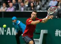10-02-14, Netherlands,Rotterdam,Ahoy, ABNAMROWTT, Philipp Kohlschreiber(GER) <br /> Photo:Tennisimages/Henk Koster