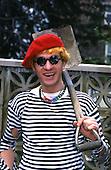 Jul 04, 1984: CAPTAIN SENSIBLE - Photosession in Croydon Surrey UK