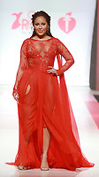 NEW YORK, NY February 08, 2018:Adrienne Bailon attend  American Heart Association's® Go Red For Women® Red Dress Collection® 2018 at Hammerstein Ballroom in New York. February 08, 2018. Credit:RW/MediaPunch
