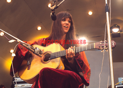 Melanie Safka 1972 Crystal Palace Garden Party.© Chris Walter.