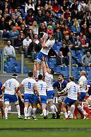 Touche Federico Ruzza Italy.<br /> Roma 16-03-2019 Stadio Olimpico<br /> Rugby Six Nations tournament 2019  <br /> Italy - France <br /> Foto Antonietta Baldassarre / Insidefoto