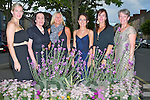 PRETTY: Looking pretty at the Roosts of East Kerry & the Brosnan Clan Gathering & the Brosnan Festival Banquet, in the river Island Hotel, Castleisland on Saturday night. L-r: Laura Crutsch-Daley, Anne Wattman-Daley, Marie O'Sullivan, Cindi Trudean-Daley, Ltenne Daley and Kathy Trudean-Daley.