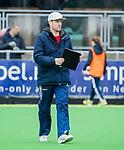 AMSTELVEEN - coach Rick Mathijssen (A'dam)    tijdens de hoofdklasse competitiewedstrijd dames, Pinoke-Amsterdam (3-4). COPYRIGHT KOEN SUYK