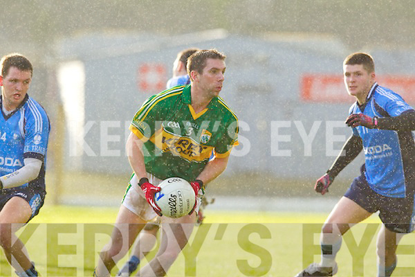 Marc O'Se Kerry in action against Ian Corbett the IT Tralee in the preliminary round of the McGrath Cup at Fitzgerald Stadium on Saturday.