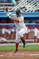 July 10th 2008:  Ronald Bermudez of the Lowell Spinners, Class-A affiliate of the Boston Red Sox, during a game at Dwyer Stadium in Batavia, NY.  Photo by:  Mike Janes/Four Seam Images