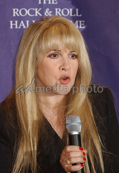 14 March 2005 - New York, New York - Stevie Nicks. 2005 Rock and Roll Hall of Fame Induction Ceremony held at the Waldorf Astoria. Photo Credit: Laura Farr/AdMedia