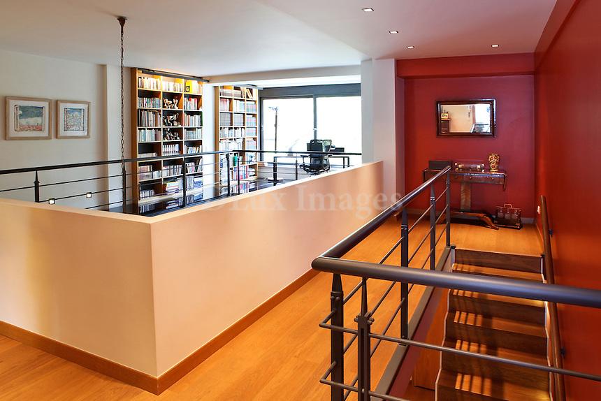 modern contemporary mezzanine