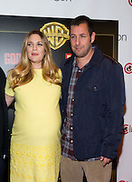 LAS VEGAS, NV - March 27: Drew Barrymore and Adam Sandler pictured arriving at Warner Broters Presentation at Cinemacon 2014 at Caesars Palace in Las Vegas, NV on March 27, 2014. © Kabik/ Starlitepics