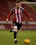Sheffield United's Stephen Mallon during the FA Youth Cup First Round match at Bramall Lane Stadium, Sheffield. Picture date: November 1st 2016. Pic Richard Sellers/Sportimage