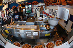 A view inside Trish's Mini-Donuts in San Francisco, California. (Photo by Brian Garfinkel)